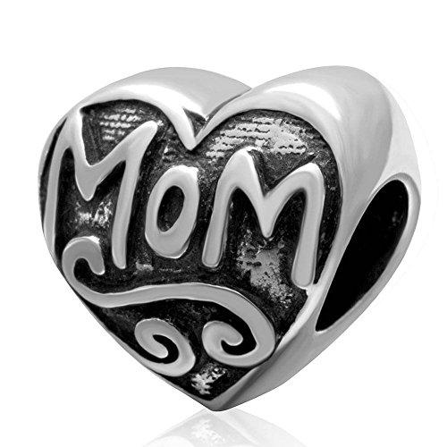 Soulbead ciondolo cuore in argento Sterling 925, con scritta