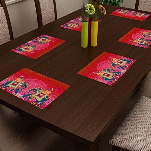 SEJ By Nisha Gupta Abstract Orange HD Digital 12 By 18 Inches...