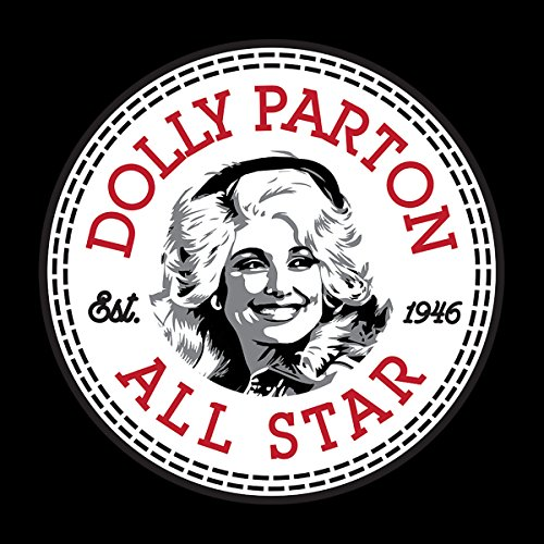 Dolly Parton Converse All Star Icon Men's T-Shirt Black