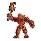 Schleich 42447.0 Lava Golem mit Waffe Spielzeug
