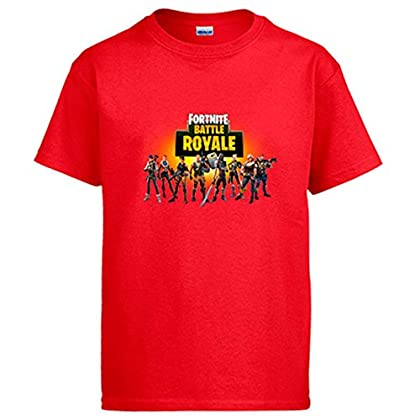 Camiseta Fortnite Battle Royale - Rojo, 12-14 Años