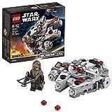 LEGO Star Wars - Microfighter Faucon Millenium - 75193 - Jeu de Construction