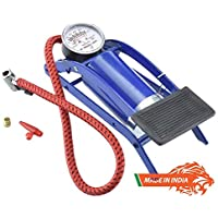 EEON High Pressure Foot Pump, Air Tyre Inflator, Air Pump Compressor for Bike/Car/Cycles and All Vehicles (Multicolored)