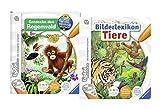 tiptoi Ravensburger Bücher Set - Bilderlexikon Tiere und Entdecke Den Regenwald