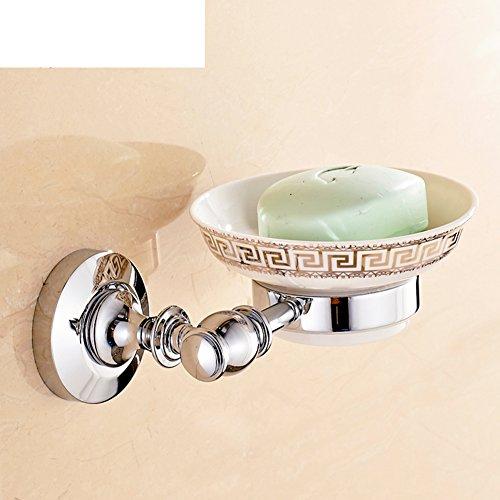 HCP Messing seifenschale European bath rose gold soap dish Bad seifenkiste Antikes seifennetz-M