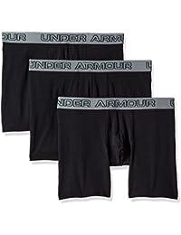 Under Armour Men's Cotton Stretch 6'' 3 Pack Boxer Jock