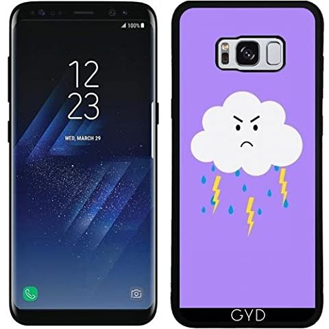 Silicone Case for Samsung Galaxy S8 (SM-G950) - Grumpy cloud