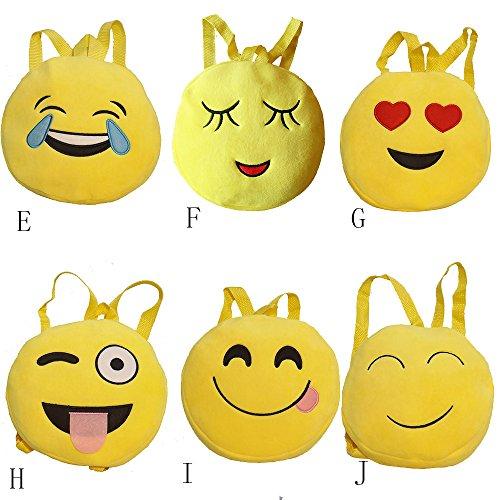 Imagen de esailq bolsos  de emoticon emoji lindo mini para adolescentes mujer niñas estudiantes f  alternativa