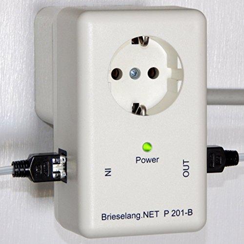dsl blitzschutz Brieselang P201-B, Überspannungsschutz für DSL-Router