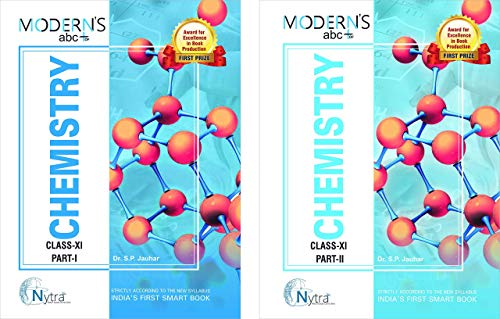 Modern ABC of Chemistry Class-11 Part I & Part II (Set of 2 Books) (2019-20 Session)