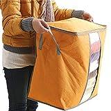 Tianya Aufbewahrungsbox für Kleidung, tragbar, nicht gewebt, Unterbetttasche, Aufbewahrungstasche für Kostüme, mehrfarbig
