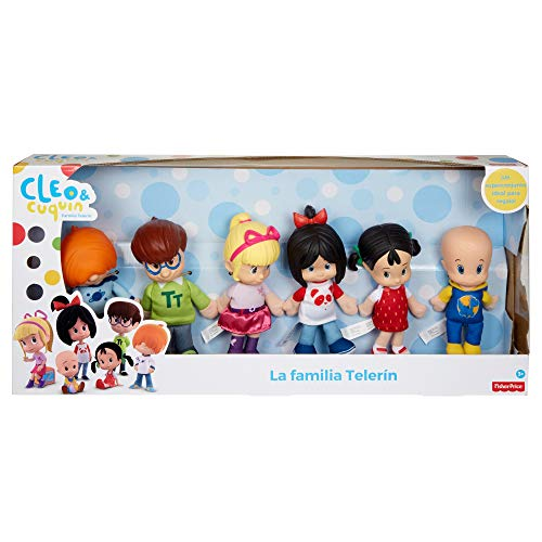 Cleo Cuquin Pack De Hermanos Muñecos De La Familia Telerín Mattel Fnj33 Tienda Juguetes El Mayor Catálogo Online De Juguetes