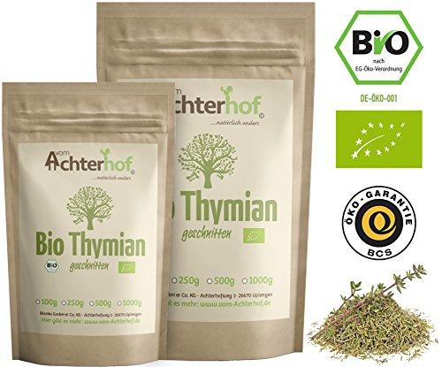 Bio Thymian getrocknet und gerebelt (250g)