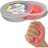 MSD Pasta 110g roja media comprimibile mano dedos atossica TheraFlex Putty Artritis Rehabilitación Fuerza