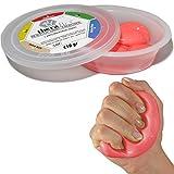 Msd PASTA 110 g Rossa MEDIA comprimibile MANO DITA atossica THERAFLEX PUTTY artrite riabilitazione forza