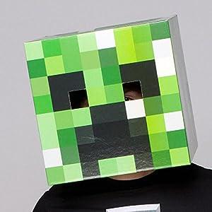 Minecraft Cartoncino Creeper Head J!NX Elmetti Maschere 0778988067130 LEGO