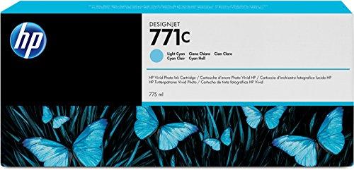 Preisvergleich Produktbild HP 771C Cyan Original Druckerpatrone mit hoher Reichweite (775 ml) für HP DesignJet