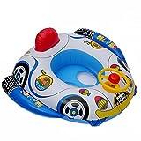DSFGHE Kinderschwimmring Umweltschutz PVC Verdickung Aufblasbare Kinderschwimmsitz Lenkrad Trompete Schwimmboot,69 * 65CM