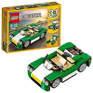 LEGO- Creator Decappottabile Verde Costruzioni Piccole Gioco Bambina Giocattolo, Colore, 31056  LEGO