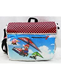 Messenger Bag - Nintendo - Super Mario & Luigi Kart 7 New School Bag nn10841 by Nintendo