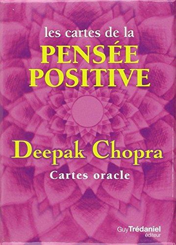 Les cartes de la pensée positive : 52 Cartes oracle par Deepak Chopra