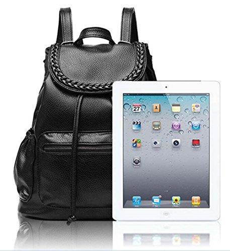Owbb® Weiß Anker Marineblau Leinwand Drucken Damen Mädchen Rucksack Reisetasche/ Kinder Twin Tasche Rucksäcke bsjw-87