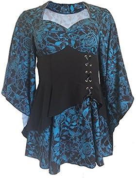Steampunk Goths - Camisas - corte imperio - Básico - para mujer