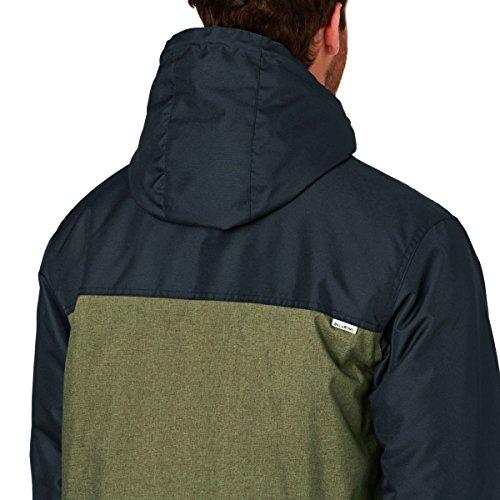 2016 Billabong Alves Contrast Jacket NAVY Z1JK15 Blue