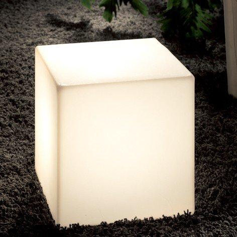 Slide design - Table basse lumineuse Cubo extérieure