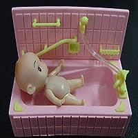 Generic Piscina Bagno con Doccia Ugello per Le Bambole Barbie Colore Casuale