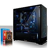 Fierce APACHE RGB Gaming PC - Schnell 4 x 4.2GHz Quad Core Intel Core i7 7700, 1TB Solid State Hybrid Drive, 16GB von 2133MHz DDR4 RAM-Speicher, NVIDIA GeForce GTX 1060 6GB, HDMI, USB3, Wi-Fi, VR Bereit, Perfekt für Wettkampfspiele, Windows 10 installiert, 3 Jahre Garantie, (475144)