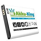 Akku-King Batterie pour Samsung Galaxy W i8150, Wave 3 S8600, X Cover S5690, Omnia W...