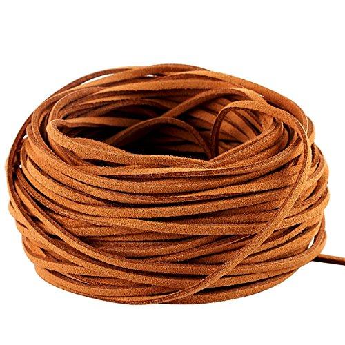 21M Cuerda de Cuero para Pulsera Collar Fabricación de Bisutería y Abalorios Artesanía