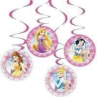 Princesas Disney - 4 colgantes (Verbetena 014200506)