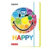 Herlitz 50001675 Sammelmappe Smiley world Rainbow, A4