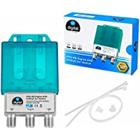 HB de Digital DiSEqC Interruptor Switch con carcasa impermeable Full HDTV 3d 4 K UHD