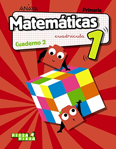 Matemáticas 1. Cuaderno 2. Cuadrícula. (Pieza a Pieza)