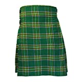 Tartanista - Kilt escocés formal y diario para hombre - Tartán Irish - 0,3 kg 4,5 m - UK48 (122...