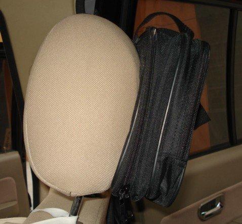 DVDA011 New Car Headrest Mount Strap Case Bag For 7  7 5  7 8  Portable DVD Player