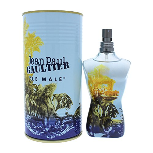 Jean Paul Gaultier Le Male homme/man, Cologne Tonique Vaporisateur Stimulating Summer 2013 Fragrance, 1er Pack (1 x 125 ml)