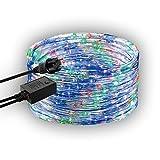 GEV 20887 LED Lauflichschlauch 8 m mit 8 Programmen, Plastik, bunt, 800 x 1,3 x 1,3 cm