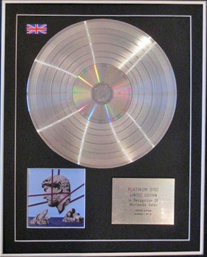 Century Music Awards CD-Platin mit Hot Chip-Aufsteller (Platin-chip)