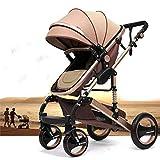"""Kinderwagen """"California"""", 3 in 1-Kombikinderwagen, Megaset 8-teilig inkl. Babywanne, Babyschale, Sportwagen und..."""