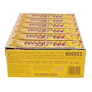 Mr. Tom: Erdnuss-Riegel – 1 Karton mit 36 Stück à 40 gr