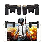 Casetegoo PUBG Gaming Joystick for Mobile || Trigger for Mobile Controller || Fire Button Assist Tool Smartphone L1R1...