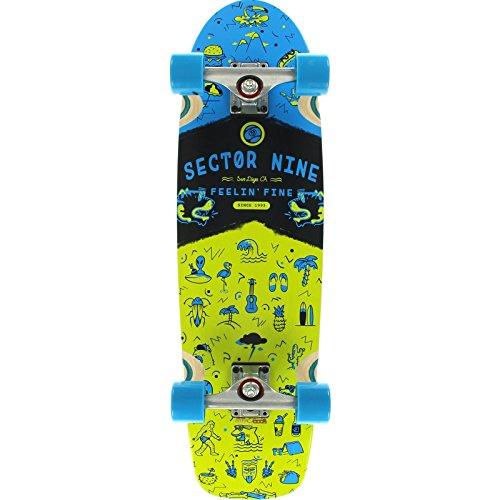 sector-9-shindig-grun-blau-komplett-longboard