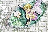Broche fée feuille verte brodé épingle corsage Bijoux féérique Brocéliande Forêt Magique - 5 modèles - édition limitée - création artisanale - idée cadeau pour anniversaire maman