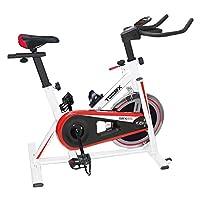 TOORX SRX 45 Fitness Bike TOORX SRX 45 Fitness Bike Fitness Bike 65279;Trasmissione a cinghia con pignone fissoSistema di frenaggio a pattini con feltri. Dotato di leva di sicurezza per il bloccaggio rapido del volanoVolano peso 18 kg bilanciatoPeso ...