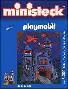 Playmobil 32704 - Ministeck Castillo del Dragón con el dragón Alrededor de 3.200 Piezas