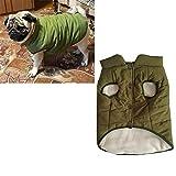 JDD mit Kapuze Haustier Kleidung Cute Pet Kleidung Warm mit Kapuze französische Bulldogge warme Weste Anzug